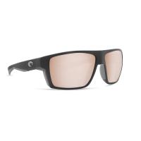 Очки поляризационные COSTA DEL MAR Bloke 580 GLP р. XL цв. Matte Black Matte Gray цв. ст. Copper Silver Mirror