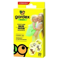 Пластырь GARDEX Baby после укусов насекомых (20 шт.)