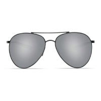 Очки COSTA DEL MAR Piper 580 P р. M цв. Shiny Black цв. ст. Gray Silver Mirror превью 3
