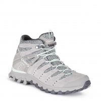 Ботинки треккинговые AKU WS Alterra Lite Mid GTX цвет Light Grey / Jade