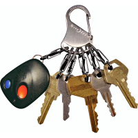 Брелок для ключей NITE IZE Key Rack мтл кар. цв. стальной