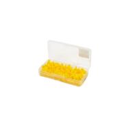 Защита для крючка MEIHO Safety Cover S (100 шт.) в коробке цв. желтый