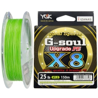 Плетенка YGK Real Sports G-Soul Upgrade PEx8 100 м цв. Зеленый # 0,2
