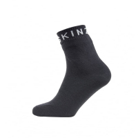Носки SEALSKINZ Super Thin Ankle Sock цвет Black / Grey
