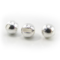 Головка вольфрамовая РУССКАЯ БЛЕСНА Tungsten Ball Trout с прорезью (5 шт.) 0,27 г цв. silver