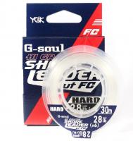 Флюорокарбон YGK G-soul Hi Grade Hard 100% Fluoro 30 м # 5