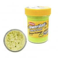 Паста BERKLEY PowerBait Natural Scent Glitter TroutBait аттр. Сыр цв. Светло-зеленый