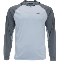 Футболка SIMMS Bugstopper Solarflex Hoody цвет steel blue