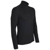 Футболка ICEBREAKER Oasis Ls Half Zip цвет Black
