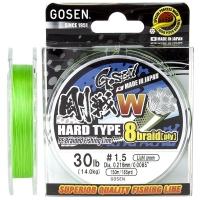 Плетенка GOSEN W8 PE Braid Hard Type 150 м Light Green 0,171 мм
