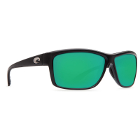 Очки COSTA DEL MAR Mag Bay 580 GLS р. XL цв. Shiny Black цв. ст. Green Mirror