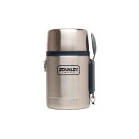 Термос STANLEY Adventure Food Jar для eды (тепло 12 ч/ холод 12 ч) 0,53 л цв. Стальной / Синий