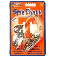 Спинербэйт STRIKE KING Spin Dance Spinnerbait 10,5 г цв. white
