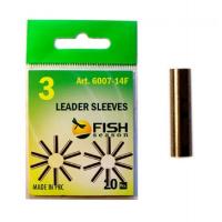 Трубка обжимная FISH SEASON Leader Sleeves 0,8 мм № 1 (20 шт.)