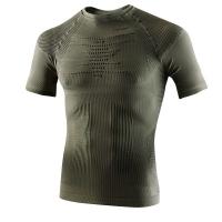 Термофутболка X-BIONIC Hunting Light Man Uw Shirt Short Sleeve цвет Серо-зеленый / Антрацит