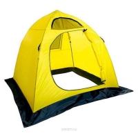 Палатка HOLIDAY Easy Ice рыболовная зимняя 1,5х1,5х1,3 цвет желтый