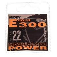 Крючок одинарный MIDDY E300 Power Eyed (10 шт.) № 20