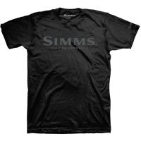 Футболка SIMMS Logo T-Shirt цвет Black