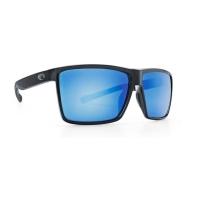 Очки COSTA DEL MAR Rincon 580 GLS р. XL цв. Shiny Black цв. ст. Blue Mirror превью 1