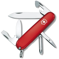 Нож VICTORINOX Tinker 91мм 12 функций цв. красный