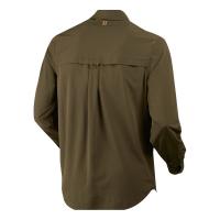 Рубашка HARKILA Herlet Tech LS Shirt цвет Willow green превью 2