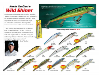 Воблер STRIKE KING WILD SHINER 12 см код цв. 501 floating
