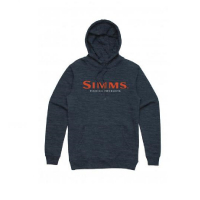 Толстовка SIMMS Logo Hoody цвет Navy Heather