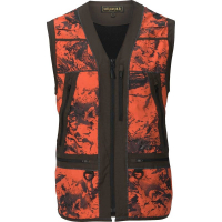 Жилет HARKILA Wildboar Pro Safety Waistcoat цвет AXIS MSP Orange Blaze / Shadow brown