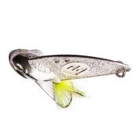 Блесна ветрикальная РУССКАЯ БЛЕСНА Cicada 17 г цв. 01, (оснащена 2 крючками)