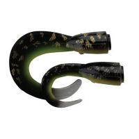 Приманка SAVAGE GEAR 3D LB Hard Eel Tails 17 (2 шт.) цв. 06-Burbout