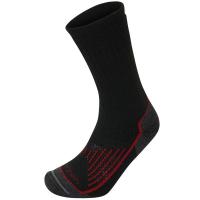 Носки LORPEN T2MCM Men's Midweight Hiker цвет Черный / темно-красный