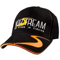 Бейсболка NORSTREAM с логотипом NEW цв. черно-оранжевая