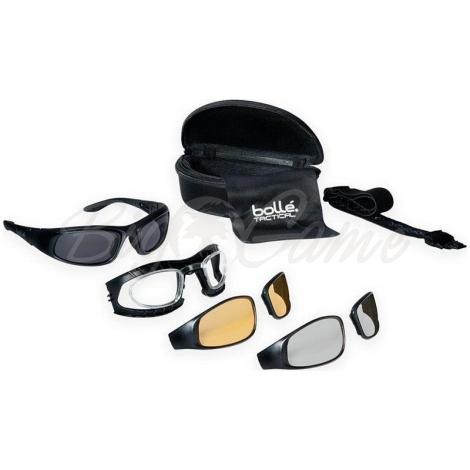 Очки баллистические BOLLE RAID комплект + диоптрийная вставка RAIDKIT фото 1