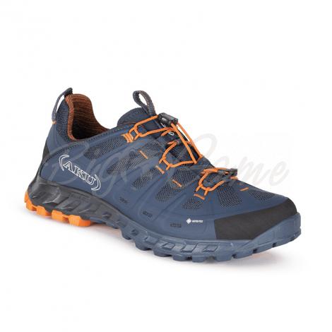 Ботинки треккинговые AKU Selvatica GTX цвет Blue / Orange фото 1