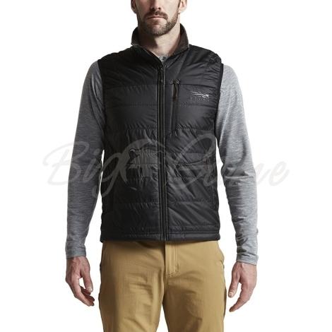 Жилет SITKA Kelvin AeroLite Vest цвет Black фото 7