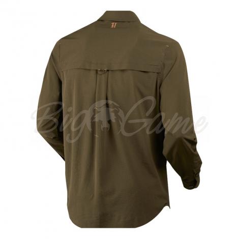 Рубашка HARKILA Herlet Tech LS Shirt цвет Willow green фото 2