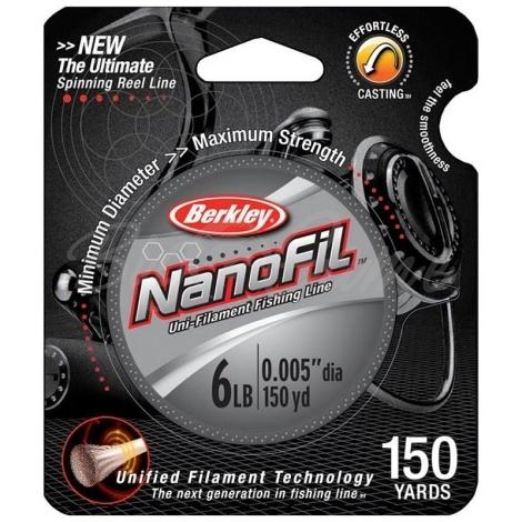 Леска BERKLEY Nanofil 125 м 0,20 мм 1245820 фото 1