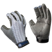 Перчатки рыболовные BUFF Pro Series Fighting Work Gloves цвет Grey Scale