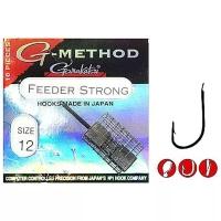 Крючок одинарный GAMAKATSU G-Method Feeder Strong B № 4 (10 шт.)