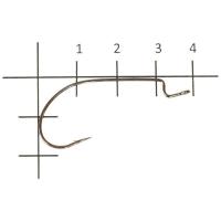 Крючок офсетный VARIVAS Hooking Master Light Class № 1/0 (8 шт.)
