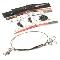 Поводок METSUI 7X7 Brown Wire Leader 10 см 9 кг (2 шт.)