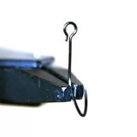 Крючок одинарный VANFOOK OSP-31BL #6, (8 шт.) цв. черный