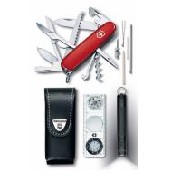 Набор инструментов VICTORINOX Traveller Set компл.:нож/фонарь/компас/чехол карт.коробка