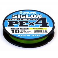 Плетенка SUNLINE Siglon PEx4 150 м цв. темно-зеленый 0,076 мм