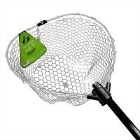 Подсачек TSURIBITO Net Trap Fold c прозрачной силиконовой сеткой, складной 2016