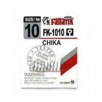 Крючок одинарный FANATIK FK-1010 Chika № 10 (10 шт.)