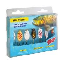 Набор блесен MEPPS Kit Truite для ловли форели
