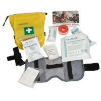 Аптечка ORTLIEB First-Aid-Kit Safety Level водонепроницаемая 1,2 л цв. желтый