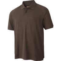 Рубашка HARKILA PH Range SS Polo цвет Slate brown
