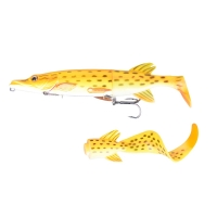 Приманка SAVAGE GEAR 3D Hybrid Pike 25 SS цв. 03-Albino Pike